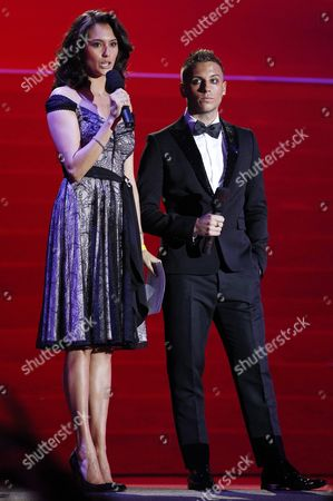 A Picture Made Available on 22 May 2011 Shows British Television Presenter Emma Willis and Anton Hysen (r) During the Opening Ceremony of the Vienna Life Ball 2011 at Vienna's Town Hall Square in Vienna Austria 21 May 2011 the Life Ball in Vienna is the Biggest Charity Event in Europe Supporting People with Hiv Or Aids Austria Vienna
