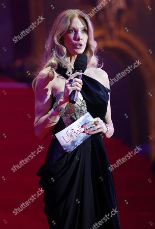 Editor-in-chief of Poz Magazine Regan Hofmann Speaks During the Opening Ceremony of the Vienna Life Ball 2011 at Vienna's Town Hall Square in Vienna Austria 21 May 2011 the Life Ball in Vienna is the Biggest Charity Event in Europe Supporting People with Hiv Or Aids Austria Vienna