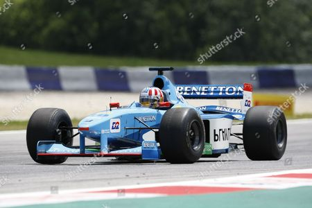 Austrian Racing Driver Alexander Wurz at the Race of Legends During the Formula One Grand Prix of Austria at the Red Bull Ring in Spielberg Austria 21 June 2014 the 2014 Formula One Grand Prix of Austria Takes Place on 22 June 2014 Austria Spielberg