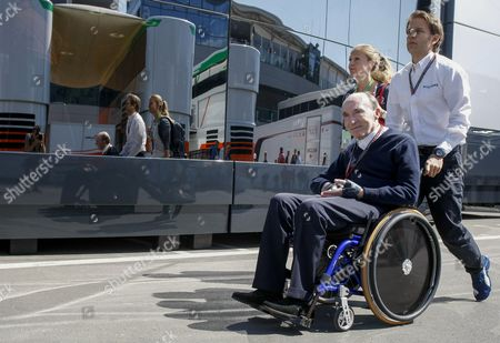Sir Frank Williams Team Principal of the Williams Formula One Racing Team During the Formula One Grand Prix of Austria at the Red Bull Ring in Spielberg Austria 22 June 2014 Austria Spielberg