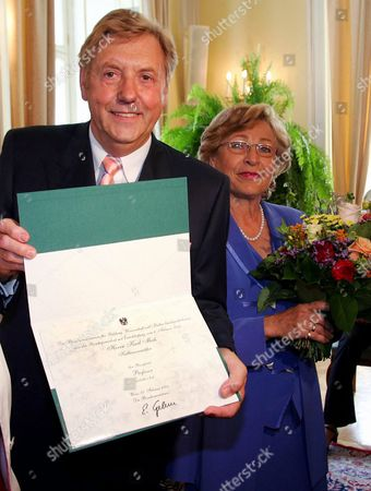 Editorial photo of Austria Karl Moik - Aug 2004