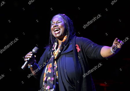 Us Singer Randy Crawford Performs on Stage During the Red Ribbon Celebration Concert For the Life Ball in Vienna Austria 18 May 2012 Austria Vienna