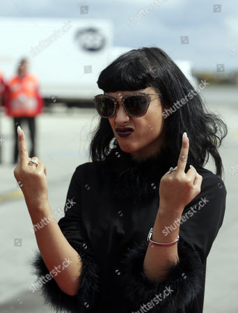 British Singer-songwriter Natalia Kills Arrives For the Life Ball Gala at the Airport Vienna-schwechat Austria 30 May 2014 the 22nd Life Ball an Annual Charity Fundraiser For Hiv and Aids Projects Takes Place at the Vienna City-hall on 31 May Austria Schwechat