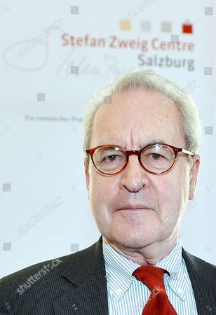 Irish Writer John Banville Poses For a Portrait on the Occasion where He Received the Austrian State Award For European Literature 2013 in Salzburg Austria 25 July 2013 Austria Salzburg