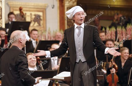 Austrian Conductor Franz Welser-most Performs During the Rehearsal of the Vienna Philharmonic New Year's Concert 2013 at the Musikverein in Vienna Austria 30 December 2012 the Traditional Concert Takes Place Every Year on the Morning of 01 January Austria Vienna