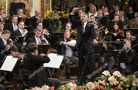 Latvian Conductor Mariss Jansons Participates in the Rehearsal of the Vienna Philharmonic New Year's Concert 2016 at the Musikverein Concert Hall in Vienna Austria 30 December 2015 the Traditional Concert is Staged Every Year on 01 January Austria Vienna