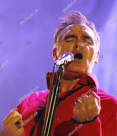 British Singer Steven Patrick Morrissey Performs Onstage During a Concert at the Konzerthaus in Vienna Austria 21 July 2011 Austria Vienna