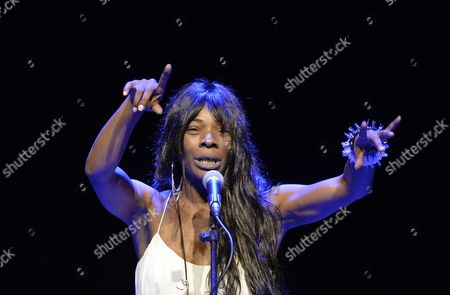 Spanish Singer Concha Buika Perfoms on Stage During a Concert at the State Opera During the Jazz Fest Vienna 2014 in Vienna Austria 02 July 2014 the Festival Runs Until 08 July Austria Vienna