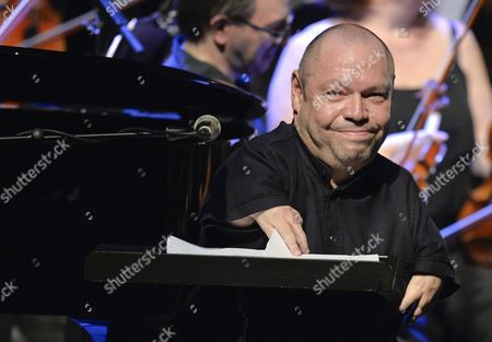Stock Picture of German Bass-baritone Thomas Quasthoff Perfoms on Stage During a Concert at the State Opera During the Jazz Fest Vienna 2015 in Vienna Austria 06 July 2015 the Festival Runs Until 11 July Austria Vienna
