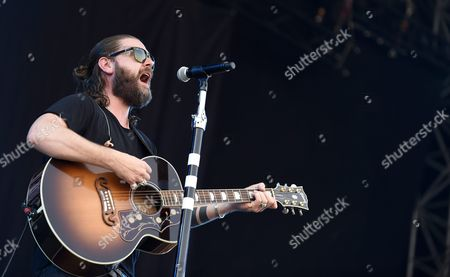 Irish Singer and Guitarist Rea Garvey Performs on the Blue Stage During a Concert at the Nova Rock 2015 Festival in Nickelsdorf Austria 13 June 2015 the Event Runs From 12 to 14 June Austria Nickelsdorf