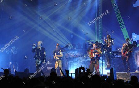 German Medieval Rock Band in Extremo Perform During Their Concert in Vienna Austria 22 November 2013 Austria Vienna