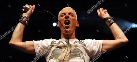 German Singer H P Baxxter of the Band 'Scooter' Performs During a Concert in Vienna Austria 29 September 2010 Austria Vienna