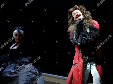 Alexander Waechter (r) As Karl Iv and Maria Happel As Maria Theresia During a Rehearsal of the Musical 'Die Habsburgischen' (the Habsburgs) in Vienna Austria 16 October the Musical Will Premiere 20 October at the 'Museumsquartier' (museumsquarter) in Vienna Austria Vienna