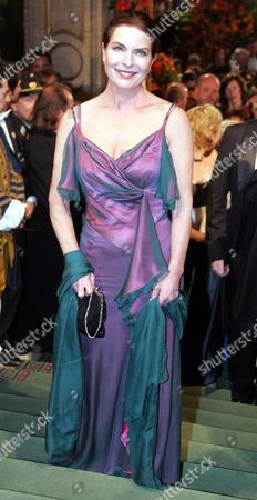 German Actress Gudrun Landgrebe Arrives at the Opening of the Opera Ball in Vienna on Thursday 03february 2005 Held Each Year in the Vienna State Opera House the Event Attracts Guests From Around the World Austria Vienna