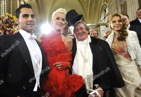 Editorial photo of Austria Opera Ball 2012 - Feb 2012