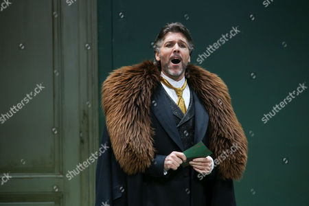 A Picture Made Available on 11 April 2014 Shows Us Bariton Thomas Hampson As Mandryka Performing During the Rehearsal of Johann Strauss' Opera 'Arabella' in Salzburg Austria 08 April 2014 the Opera Will Premiere on 12 April in the Course of the Easter Festival Salzburg Austria Salzburg