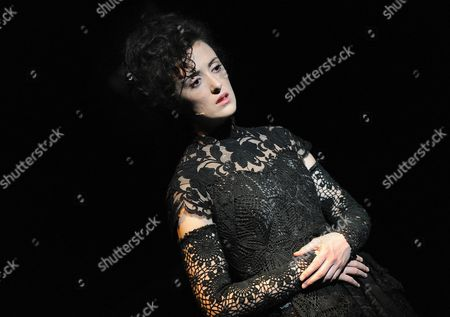 A Picture Made Available on 19 August Shows Hedydd Dylan As 'Mary Shelley' Performing During the Photo Rehearsal of Mary Mother of Frankenstein at the Salzburg Festival in Salzburg Austria 18 August 2010 the Opera Premiere Takes Place on 19 August 2010 Austria Salzburg