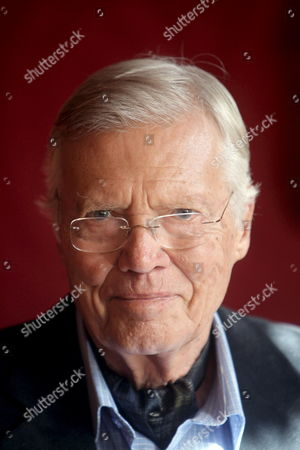 Austrian Actor and Founder of the Charity 'Menschen Fuer Menschen' (humans For Humans) Karlheinz Boehm Poses For a Photo After Receiving the Golden Medal of Honour of the City of Vienna in Vienna Town Hall Austria 17 October 2008 Austria Vienna
