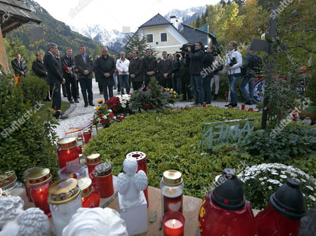 Editorial picture of Austria People Haider Death Anniversary - Oct 2013