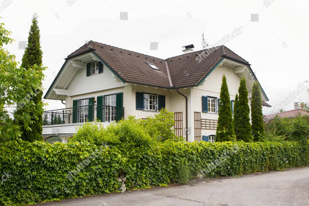 An Exterior View of the House of Late Actor and Founder of 'Menschen Fuer Mensche' Karlheinz Boehm in Groedig Near Salzburg Austria 30 May 2014 Boehm Died on 29 May 2014 at the Age of 86 After a Long Period of Illness Austria Groedig