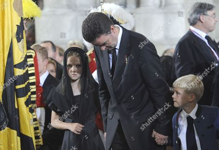 Georg Von Habsburg is Seen Prior to a Requiem During Otto Von Habsburg's Funeral at the Stephansdom Cathedral in Vienna Austria 16 July 2011 Otto Von Habsburg was the Oldest Son of Charles i the Last Emperor of Austria and Died at the Age of 98 on 04 July 2011 in His Home in Poecking Germany He and His Wife Regina who Died in 2010 Will Be Buried in the Kaputzinergruft (imperial Crypt) Below the Capuchin Church on 16 July in Accordance with a Habsburg Tradition His Heart Will Be Taken to the Abbey of Pannonhalma Some 50km West of Budapest Hunagry on 17 July Austria Vienna