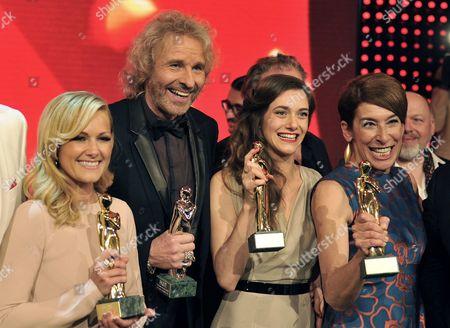 Editorial photo of Austria Romy Award - Apr 2014