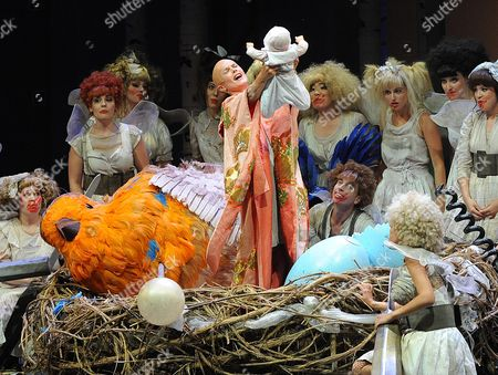 (c) Karoline Eichhorn (titania) Performs During the Rehearsal For the Play 'A Midsummer Night's Dream' by William Shakespeare in Salzburg Austria 01 August 2013 a Midsummer Night's Dream Will Premiere on 3 August the Festival Runs From 19 July Until 01 September Austria Salzburg