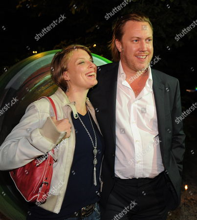 Austrian Actor Nicholas Ofczarek (r) Poses with His Wife Austrian Actress Tamara Metelka at a Party After the Premier of 'Jedermann' During the Salzburg Festival Austria Early Morning of 28 July 2011 the Festival Runs Until 30 August Austria Salzburg