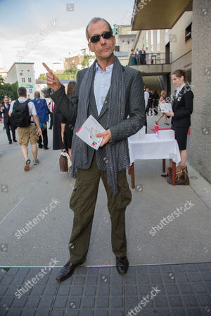 German Actor Georg Uecker Arrive For the Premiere of 'Charlotte Salomon' at the Salzburg Festival 2014 in Salzburg Austria 28 July 2014 Austria Salzburg