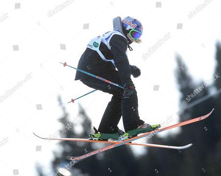 Katie Summerhayes (gbr/2 ) in Action During the Women's Ski Slopestyle Finals at the Fis Freestyle Ski and Snowboard World Championships 2015 in Kreischberg Austria 21 January 2015 Austria Kreischberg
