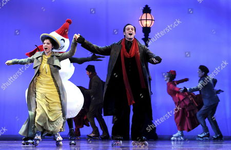 A Photo Dated 18 February 2009 Shows Lisa Antoni (l) As Mary Vetsera and Drew Sarich As Rudolf Perform on Stage During the Dress Rehearsal of the Musical 'Rudolf - Affaire Mayerling' in Raimund Theater in Vienna Austria the Piece Premiered 26 February 2009 This New Historical Musical Tells the Tragic Tale of the Life of Crown Prince Rudolf and His Love of Mary Vetsera the German Script was Inspired by Jewish Austrian Writer Frederik Morton's Novel 'A Nervous Splendor' and the Score is by Us Composer Frank Wildhorn Austria Vienna