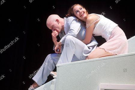 Actors Raphael Von Bergen (l) and Luisa Katharina Davids As 'Ingrid' Perform During a Rehearsal of Henrik Ibsen's 'Peer Gynt' Directed by Michael Sturminger at the Volkstheater in Vienna Austria 02 September 2008 'Peer Gynt' Will Premiere on 05 September 2008 Austria Vienna