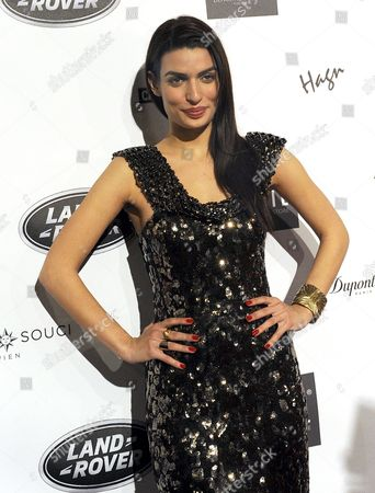 Greek Actress Tonia Sotiropoulou Attends the Vienna Awards For Lifestyle and Fashion Ceremony in Vienna Austria 21 March 2013 Austria Vienna