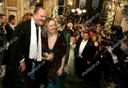 Herbert Prohaska and His Wife Arrive For the Vienna Opera Ball in Vienna on Thursday 23 February 2006 Vienna's Traditional Opera Ball Celebrates 50 Years on 23 February 2006 This Year's Guest Being Hollywood Starlet Carmen Electra Austria Vienna