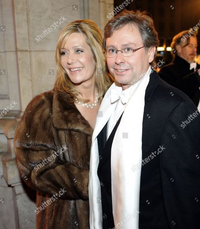 Austrian Broadcaster Alexander Wrabetz with His Wife Arrive on the Red Carpet Before the Start of the Vienna State Opera Ball in Vienna Austria 11 February 2010 Austria Vienna