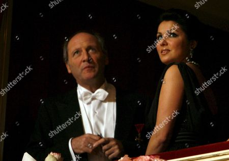 Russian Opera Singer Anna Netrebko and Director Robert Dornhelm (l) Attend the Opening of the Vienna Opera Ball at the 'Wiener Staatsoper' in Vienna Austria on 31 January 2008 Dita Von Teese Former Wife of Shock Rocker Marylin Manson is This Year's Guest of Austrian Socialite Richard Lugner at the Vienna Opera Ball Austria Vienna