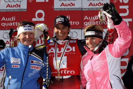 Editorial photo of Sweden Alpine Skiing Super G World Cup - Mar 2006