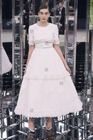 Editorial photo of Chanel show, Spring Summer 2017, Haute Couture Fashion Week, Paris, France - 24 Jan 2017