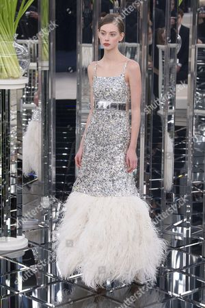 Editorial picture of Chanel show, Spring Summer 2017, Haute Couture Fashion Week, Paris, France - 24 Jan 2017