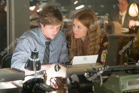Hunter Parrish and Genevieve Angelson