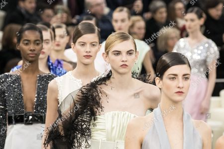 Editorial image of Chanel - Runway - Paris Fashion Week Haute Couture S/S 2017, France - 24 Jan 2017