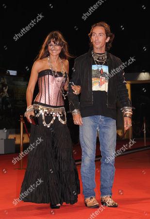 Rosita Celentano (daughter of Adriano Celentano) and boyfriend Soldano Kunz D'Asburgo
