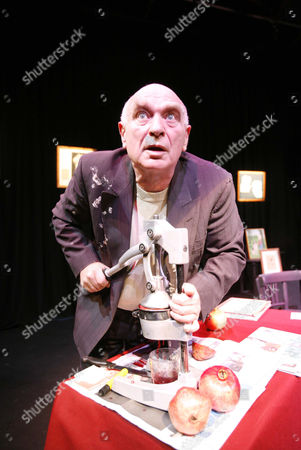 Ken Campbell in 'Hyphenator' at the Drill Hall in London, Britain