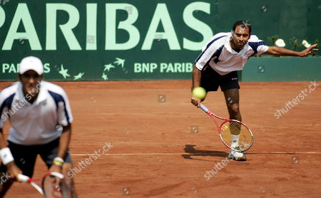 Editorial photo of Chile Tennis Davis Cup Pakistan - Sep 2005