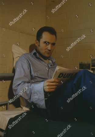 Gavin Kitchen (as Steve Marshal) on Michael Feldmann's first day in prison after conviction for robbery (Ep 1744 - 4th March 1993)