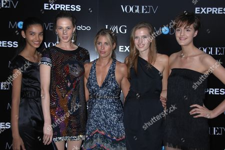 Editorial picture of Vogue.TV and IMG's Launch of Model.Live Sponsored by Express.Com, Held at the Bowery Hotel, New York, America - 03 Sep 2008