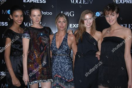 Editorial photo of Vogue.TV and IMG's Launch of Model.Live Sponsored by Express.Com, Held at the Bowery Hotel, New York, America - 03 Sep 2008