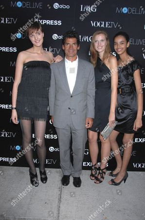 Editorial image of Vogue.TV and IMG's Launch of Model.Live Sponsored by Express.Com, Held at the Bowery Hotel, New York, America - 03 Sep 2008