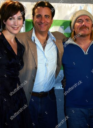 Andy Garc?a (c) Elisa Zylberstein and Film Director Mick Davis During the Presentation of the Movie 'Modigliani' on Thursday 16 September 2004 at Toronto Film Festival in Canada Canada Toronto