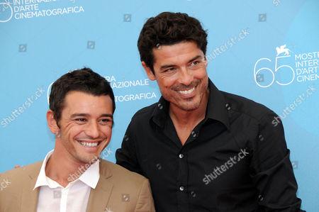 Michele Venitucci and Alessandro Gassman